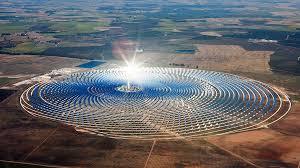 solar condensed farm